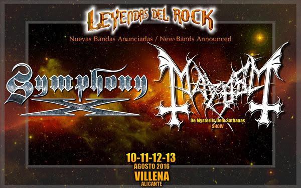 Symphony x leyendas del ROCK